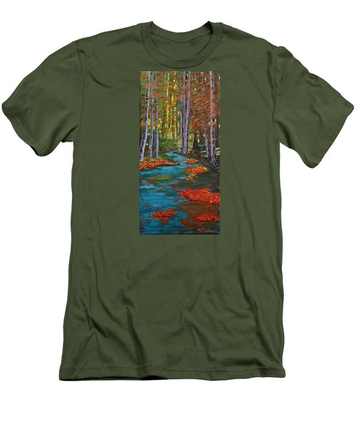 Autumn In The Air Men's T-Shirt (Athletic Fit)