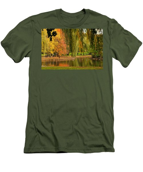 Autumn In The Garden Men's T-Shirt (Athletic Fit)