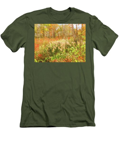 Autumn Landscape Men's T-Shirt (Athletic Fit)
