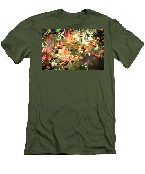 Autumn Leaves Men's T-Shirt (Athletic Fit)
