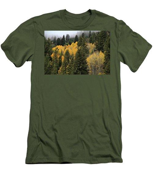 Autumn Mist, Owyhee Mountains Men's T-Shirt (Athletic Fit)