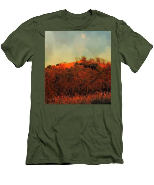 Autumn Moonrise Men's T-Shirt (Athletic Fit)