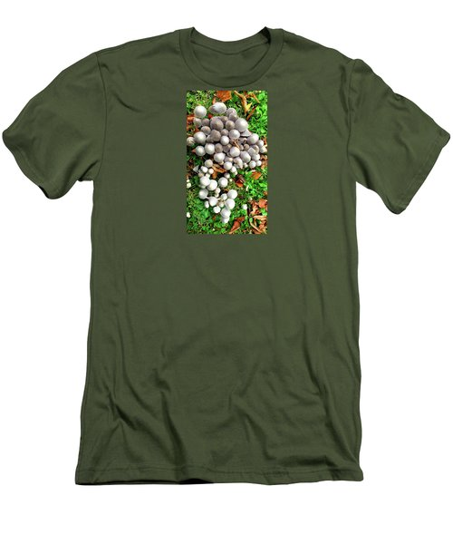Autumn Mushrooms Men's T-Shirt (Athletic Fit)