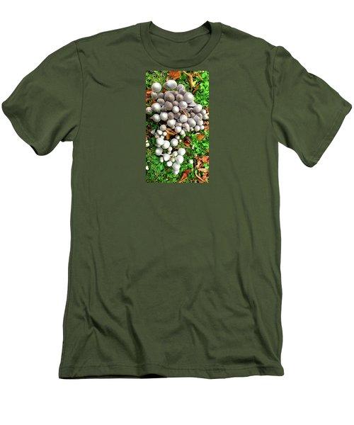Autumn Mushrooms Men's T-Shirt (Athletic Fit)