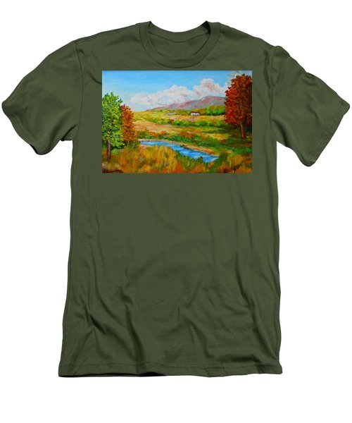 Autumn Nature Men's T-Shirt (Athletic Fit)