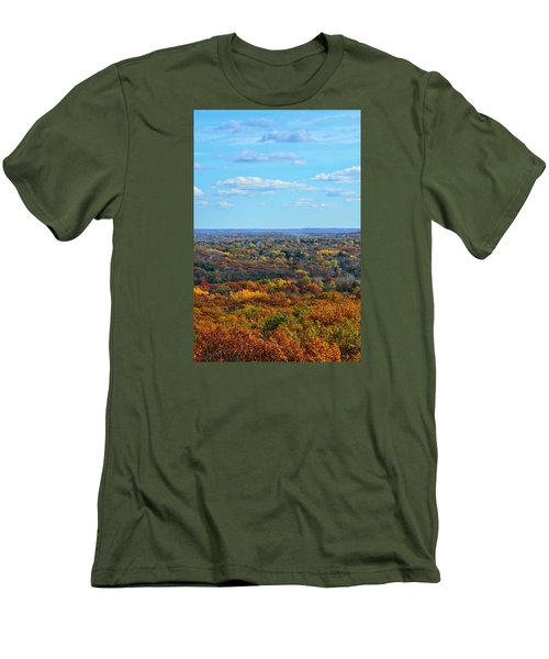 Autumn Overlook Men's T-Shirt (Slim Fit) by Nikki McInnes