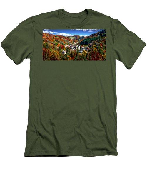 Autumn Panorama Men's T-Shirt (Athletic Fit)