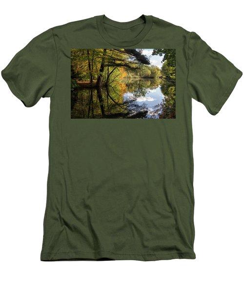 Autumn Reflections Men's T-Shirt (Athletic Fit)