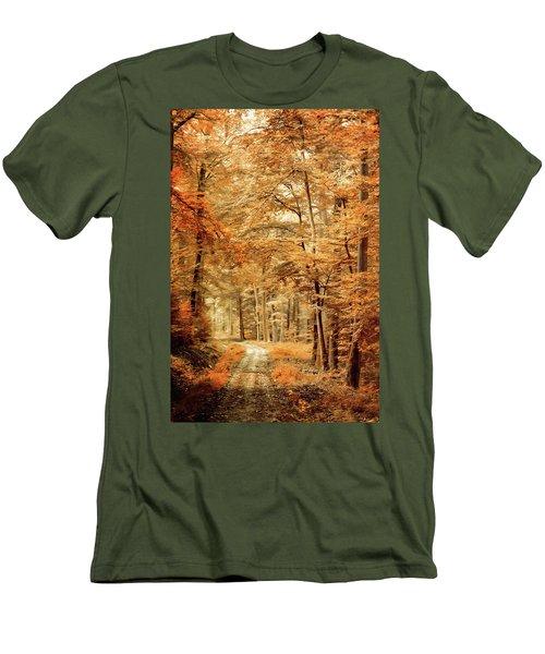 Autumn Secret Men's T-Shirt (Athletic Fit)