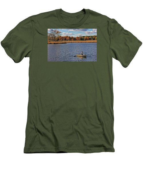 Autumn Solitude Men's T-Shirt (Athletic Fit)