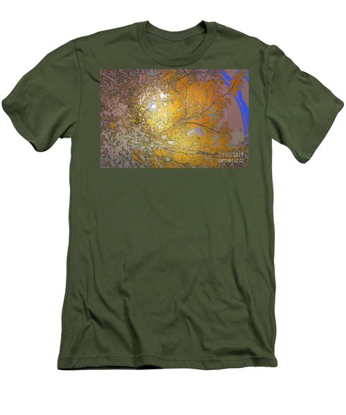 Autumn Sun Men's T-Shirt (Slim Fit) by Deborah Nakano