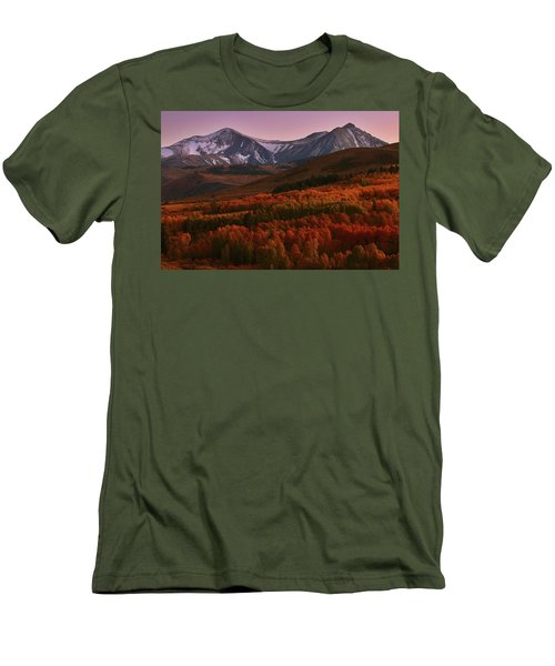 Autumn Sunset At Conway Summit In The Eastern Sierras Men's T-Shirt (Athletic Fit)
