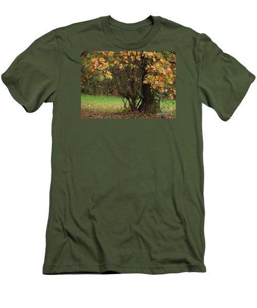 Autumn Tree 2 Men's T-Shirt (Athletic Fit)