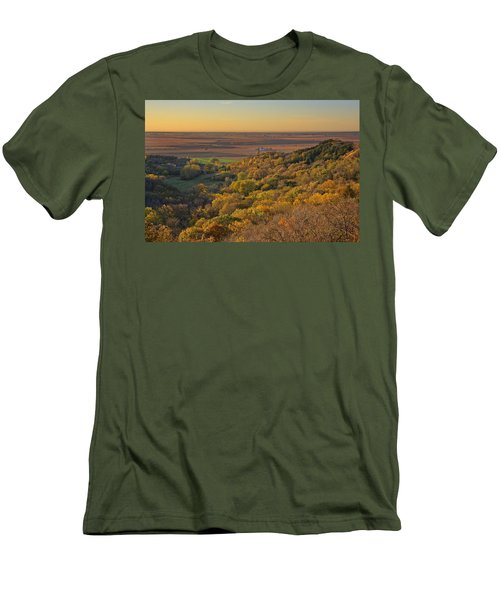 Autumn View At Waubonsie State Park Men's T-Shirt (Athletic Fit)