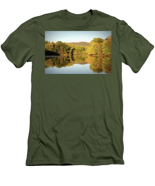 Autumn Water Men's T-Shirt (Athletic Fit)