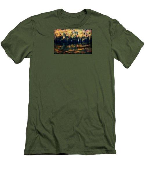 Autumn's Masterpiece Men's T-Shirt (Slim Fit) by Robin Regan