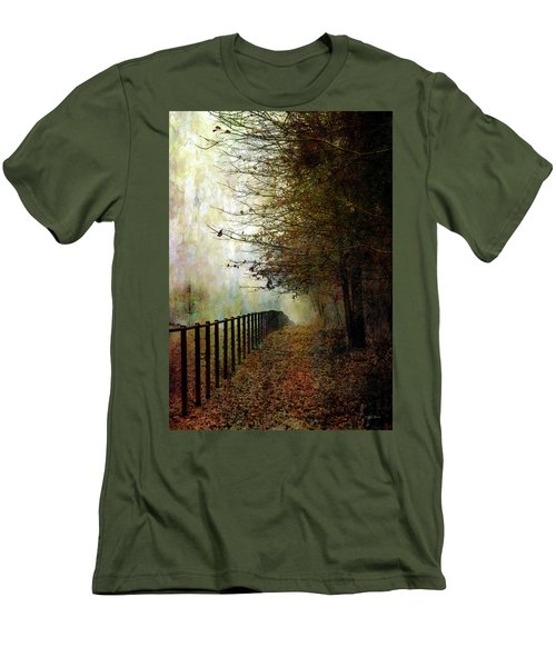 Autumns Path 7864 Idp_2 Men's T-Shirt (Athletic Fit)