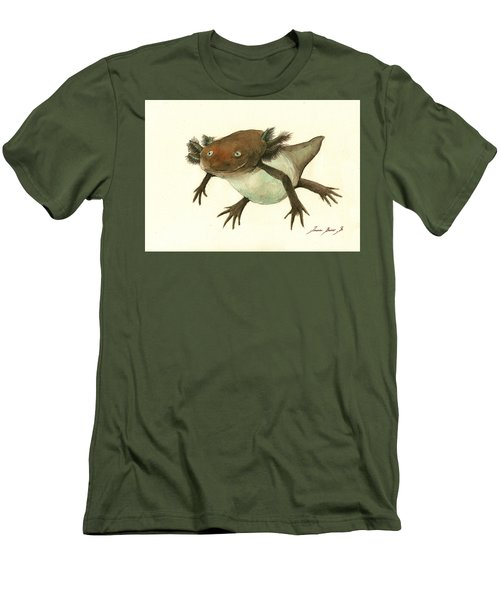 Axolotl Men's T-Shirt (Athletic Fit)
