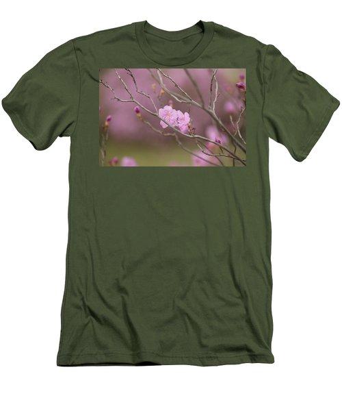 azalea III Men's T-Shirt (Slim Fit) by Hyuntae Kim