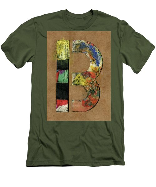 The Letter B Men's T-Shirt (Athletic Fit)