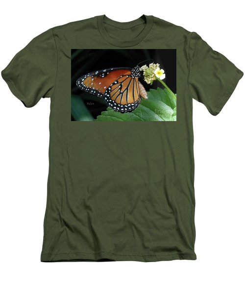 Baby Monarch Macro Men's T-Shirt (Athletic Fit)