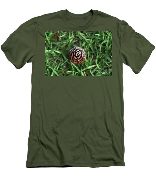 Baby Pine Cone Men's T-Shirt (Athletic Fit)