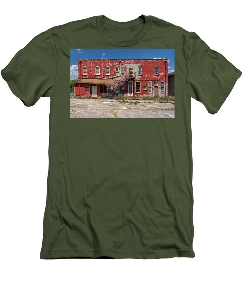 Men's T-Shirt (Slim Fit) featuring the photograph Back Lot by Christopher Holmes