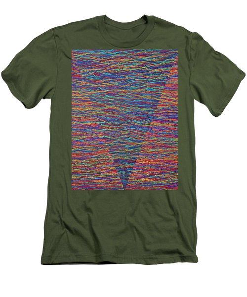Back To Heaven 1 Men's T-Shirt (Athletic Fit)