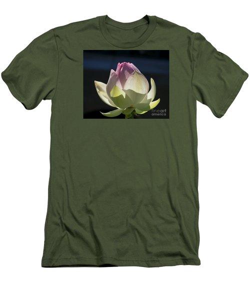 Backlit Lotus Bud 2015 Men's T-Shirt (Athletic Fit)