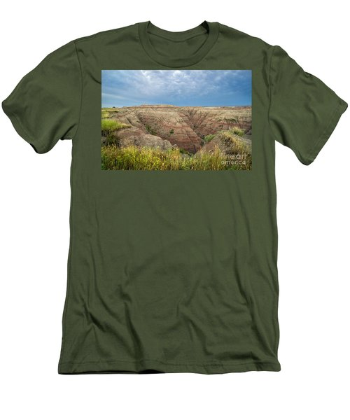 Badland Ravine Men's T-Shirt (Athletic Fit)