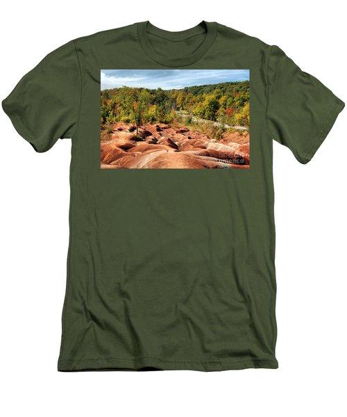 Badlands Men's T-Shirt (Slim Fit) by Joe  Ng