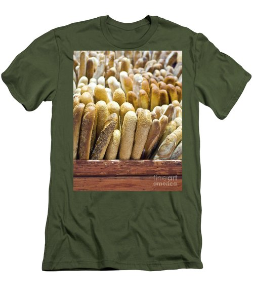Baguettes Men's T-Shirt (Athletic Fit)