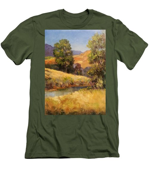 Bakesfield Creek Afternoon Men's T-Shirt (Athletic Fit)