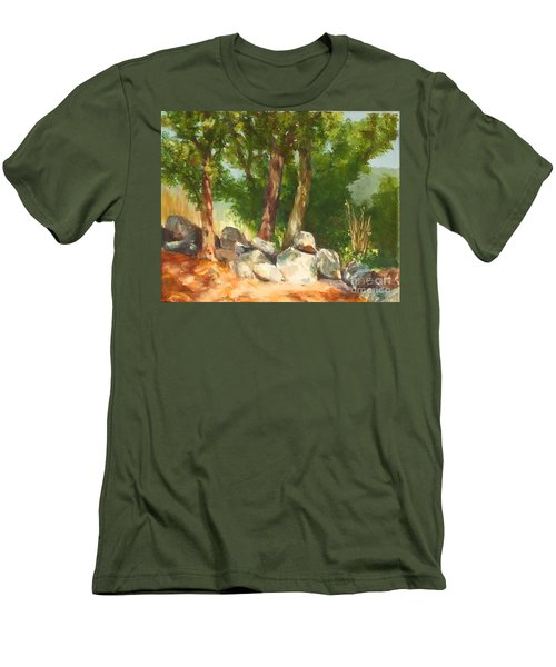 Baking In The Sun Men's T-Shirt (Athletic Fit)