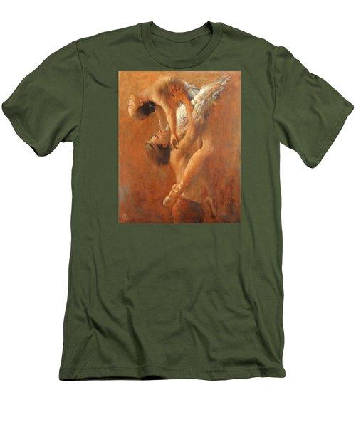 Balance Men's T-Shirt (Slim Fit) by Vali Irina Ciobanu