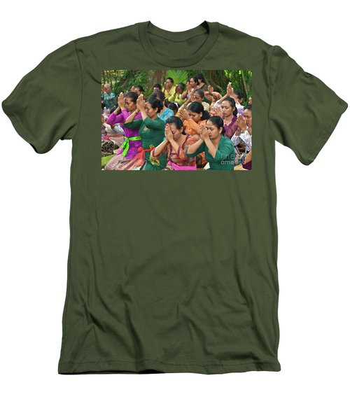 Men's T-Shirt (Slim Fit) featuring the photograph Bali_d323 by Craig Lovell