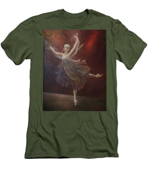Ballet Dancer Anna Pavlova Men's T-Shirt (Athletic Fit)
