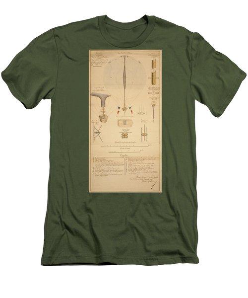 Balloon Patent Men's T-Shirt (Athletic Fit)