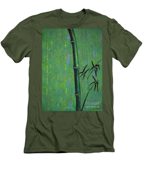 Bamboo Men's T-Shirt (Slim Fit) by Jacqueline Athmann