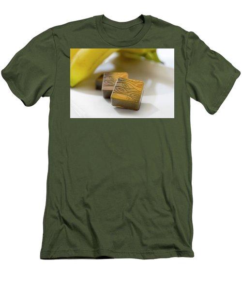 Banana Chocolate Men's T-Shirt (Athletic Fit)