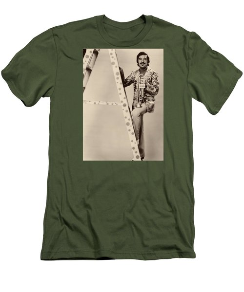Band Leader Doc Serverinsen 1974 Men's T-Shirt (Slim Fit) by Mountain Dreams