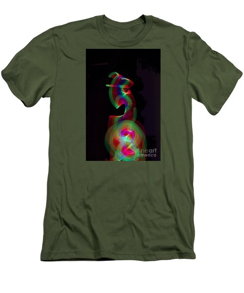 Men's T-Shirt (Slim Fit) featuring the photograph Banished By Light by Xn Tyler