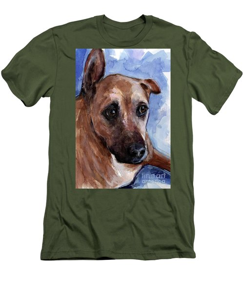 Banks Men's T-Shirt (Slim Fit) by Molly Poole