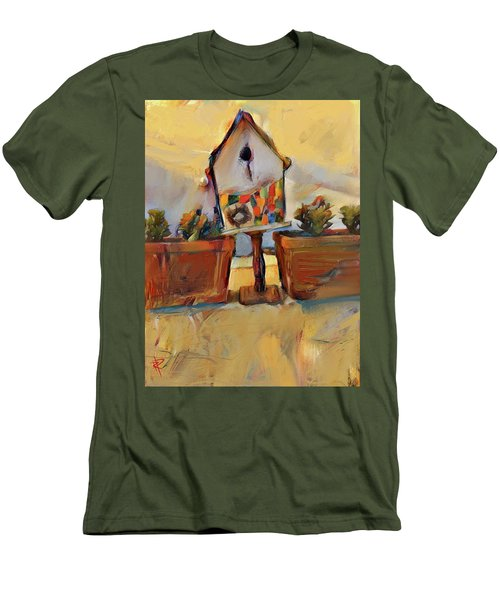 Barb's Bird House Men's T-Shirt (Athletic Fit)