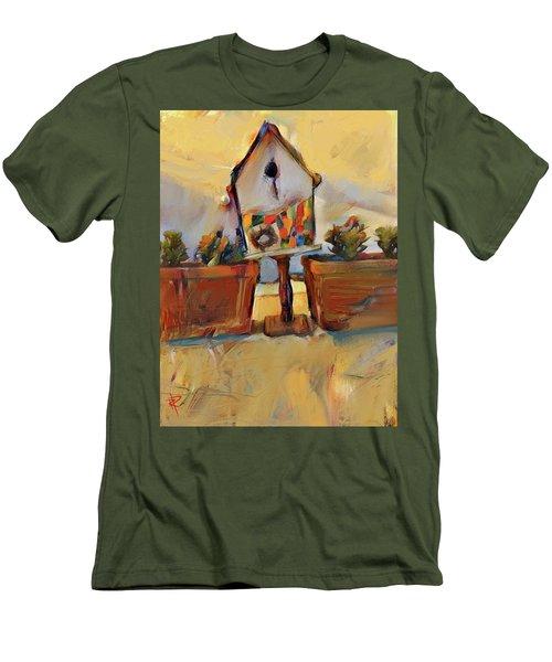 Barb's Bird House Men's T-Shirt (Athletic Fit)