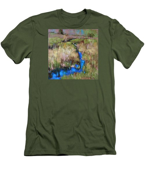 Barefoot In The Dew  Men's T-Shirt (Athletic Fit)