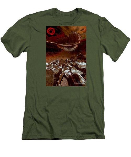 Bargain Bay 3 Series 2 Men's T-Shirt (Slim Fit) by Elaine Hunter