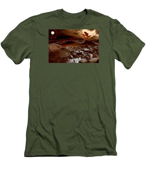 Bargain Bay  Series 2 Men's T-Shirt (Slim Fit) by Elaine Hunter