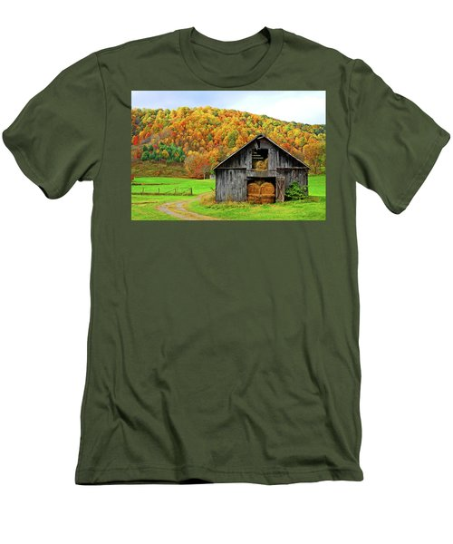 Barntifull Men's T-Shirt (Slim Fit) by Dale R Carlson