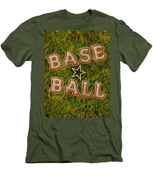 Baseball Men's T-Shirt (Slim Fit) by La Reve Design